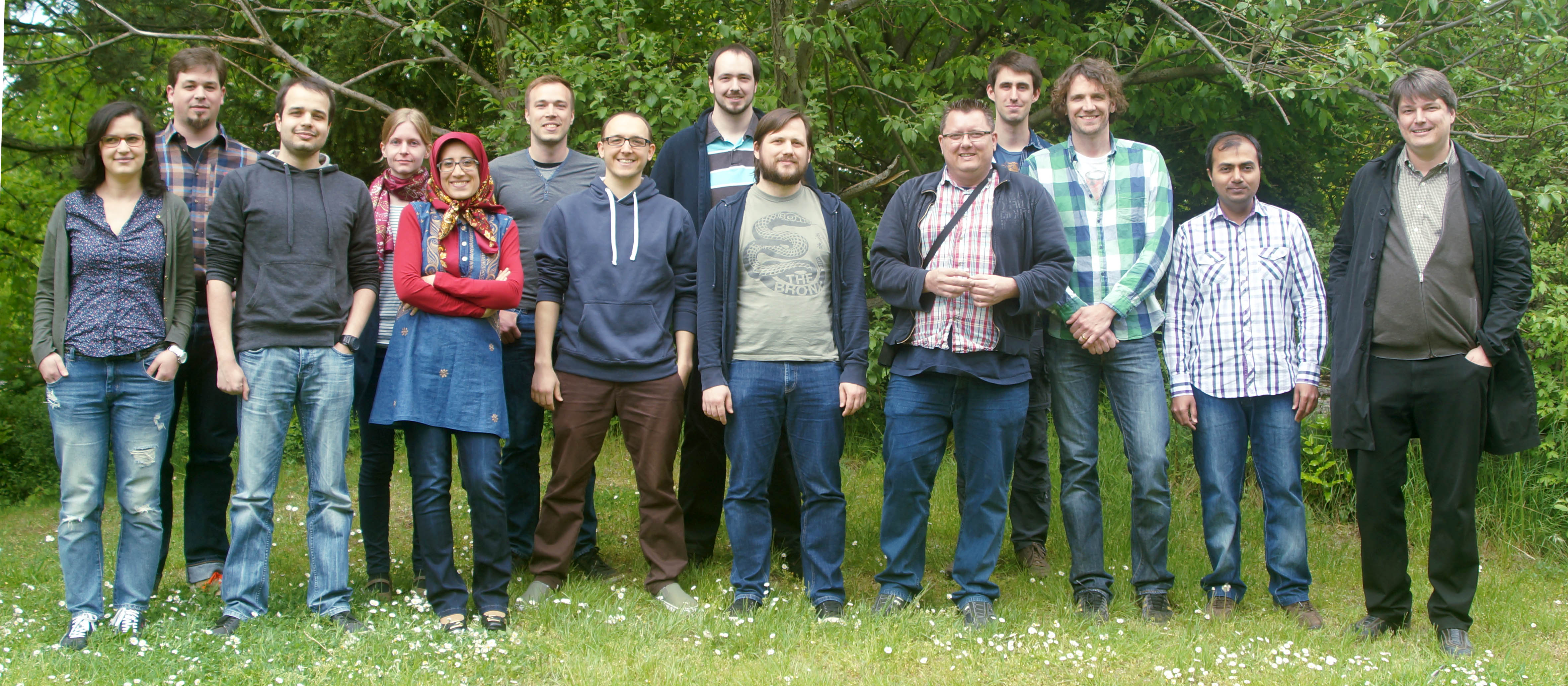 The members of the research group Data Mining